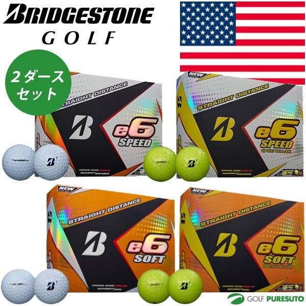 【US仕様】ブリヂストンゴルフ e6 SPEED/SOFT ゴ...