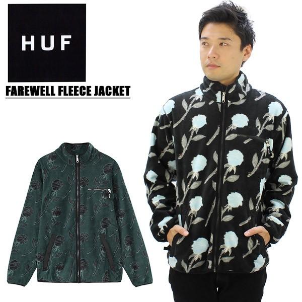 【送料無料】ハフ(HUF) FAREWELL FLEECE JACKET ...