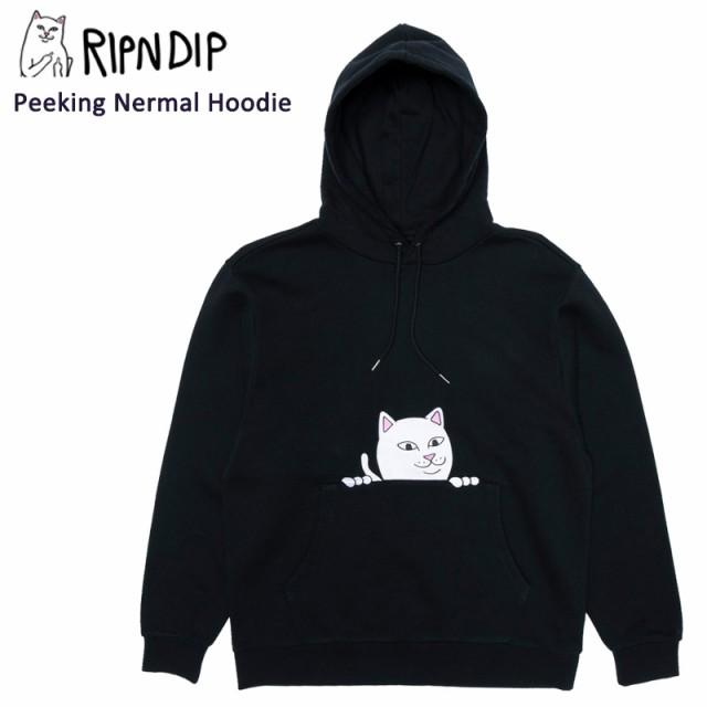 リップンディップ(RIPNDIP) Peeking Nermal Hood...