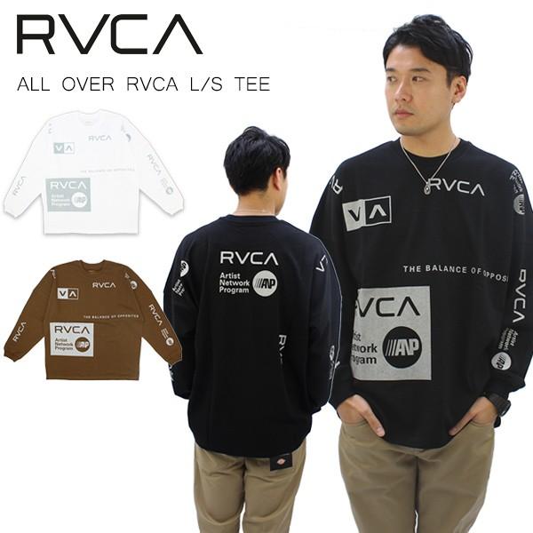 【国内正規品】ルーカ(RVCA) ALL OVER RVCA  L/S ...