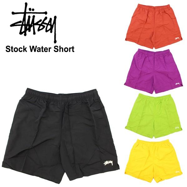 ステューシー(STUSSY)Stock Water Short 半ズボン...