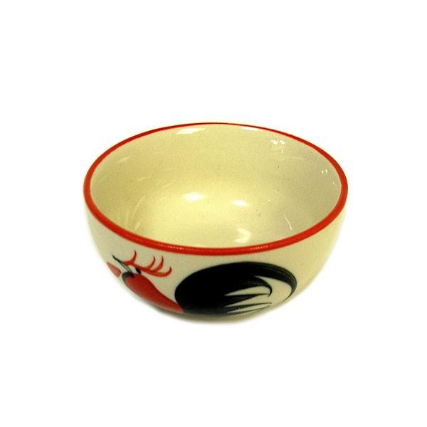 にわとり柄 小皿 お通し 小鉢 調味料皿 [直径8.5c...