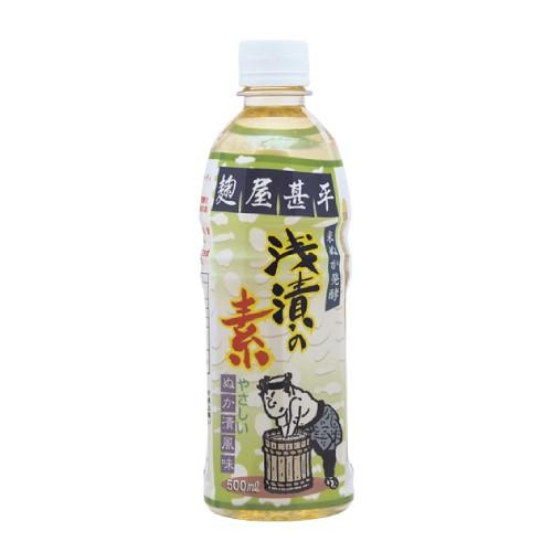 麹屋甚平  浅漬けの素 500ml 【マルアイ食...