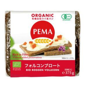 PEMA 有機全粒ライ麦パン(フォルコンブロート) 37...