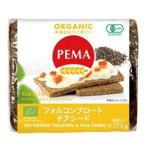 PEMA 有機全粒ライ麦パン(フォルコンブロート&チ...