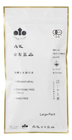 有機丹波なた豆茶 Large Pack 2g×30 【こやま園...