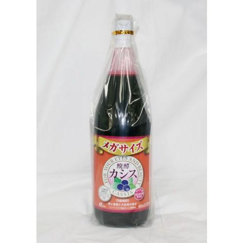 ジャフマック 醗酵カシス飲料 メガサイズ 1800ml...