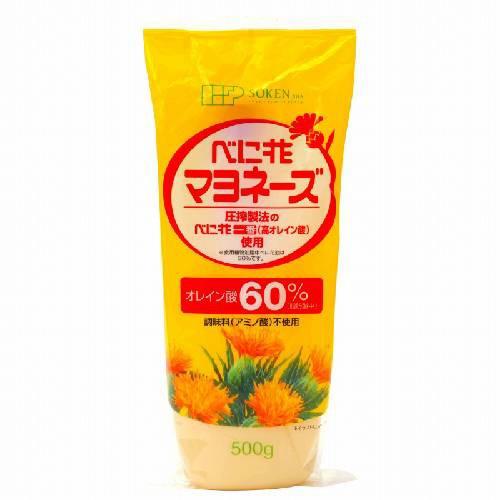 【創健社】べに花マヨネーズ 500g