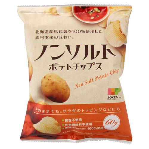 ノンソルトポテトチップス (60g) 【ノースカラー...