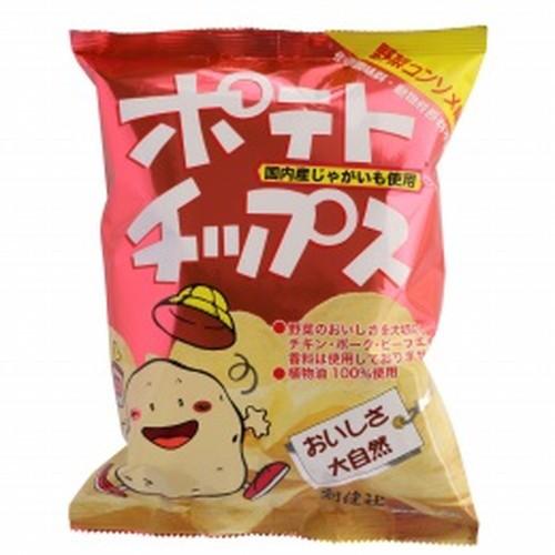 【創健社】ポテトチップス 野菜コンソメ味 60g ...