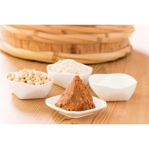自然栽培 手作り味噌セット 中辛 (約3kg)白米麹...