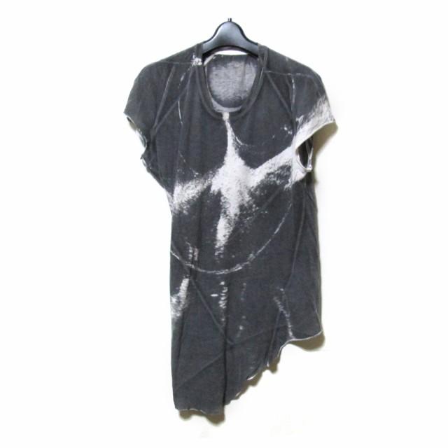 GHOST ゴースト「2」転写Tシャツ (黒 半袖) 12323...