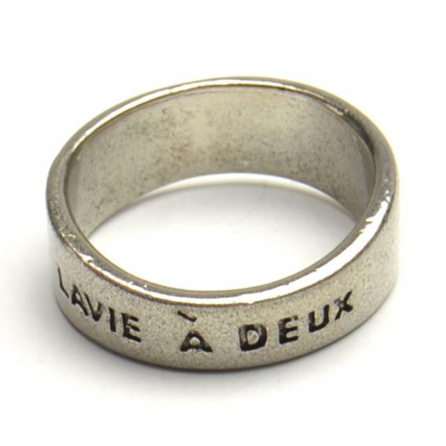 LA VIE A DEUX リング 2人の人生 メッセージ 指輪...