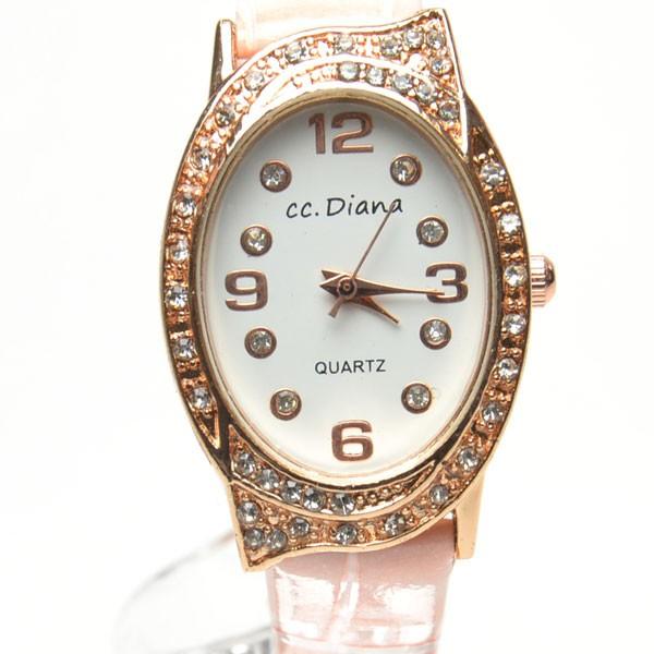 腕時計 電池式クォーツ レディスウォッチ ピン...