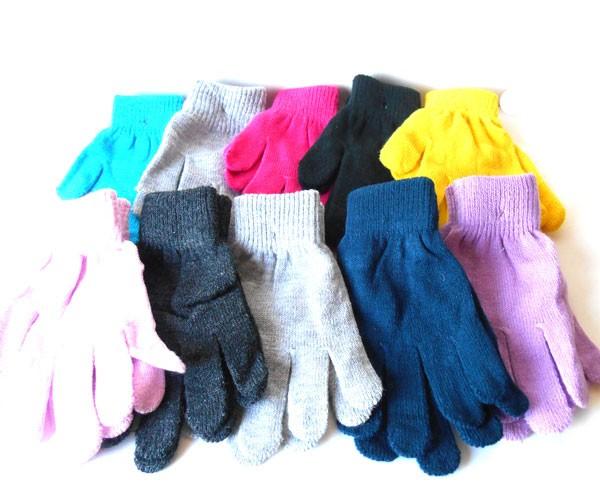 のびのび〜る カラー手袋 フリーサイズ 小さい...