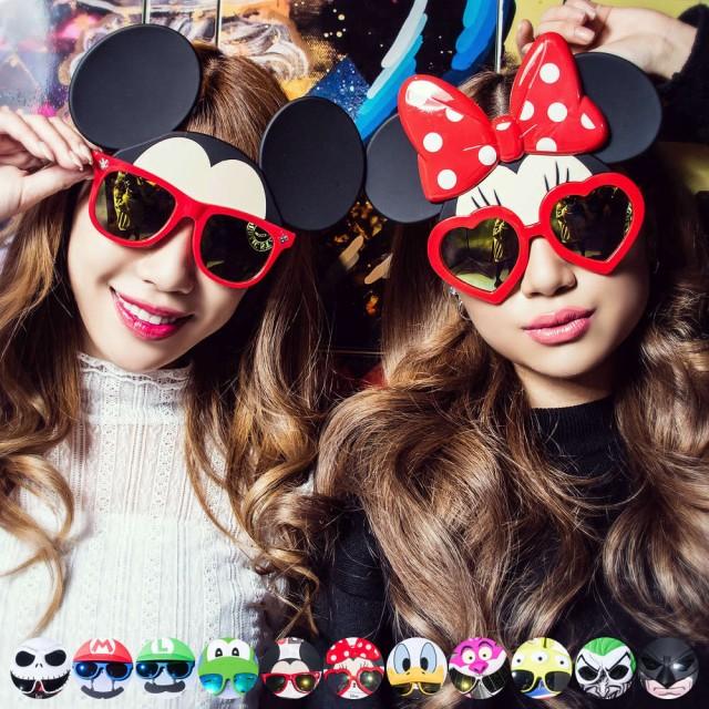 """【即日発送】ディズニーサングラス/全11柄""""Disney..."""