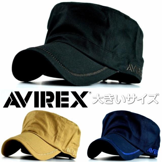 正規品 AVIREX ワークキャップ キャップ 帽子 メ...