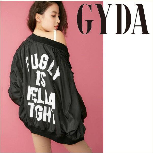 【ポイント5倍】GYDA ジェイダ 2WAY FUGLY MA-1【...