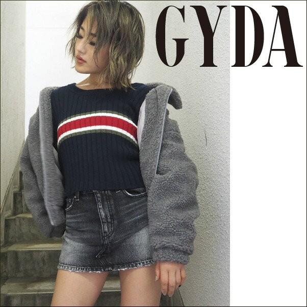 【ポイント5倍】GYDA ジェイダ シンプルボアコー...