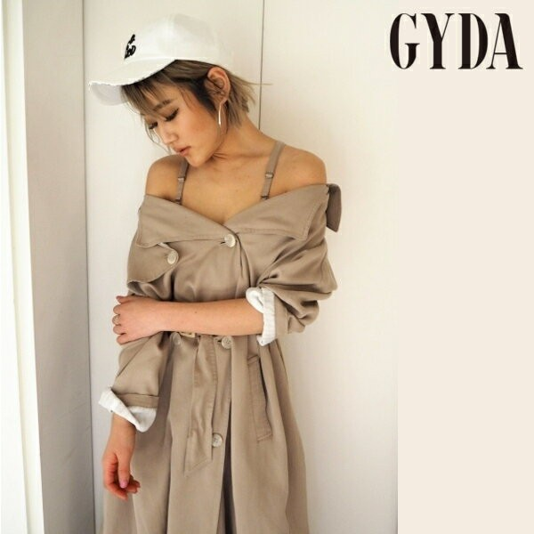 【ポイント5倍】GYDA ジェイダ 2WAYオフショルト...