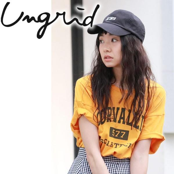 【ポイント10倍】Ungrid CORVALLISロゴTee【2018...