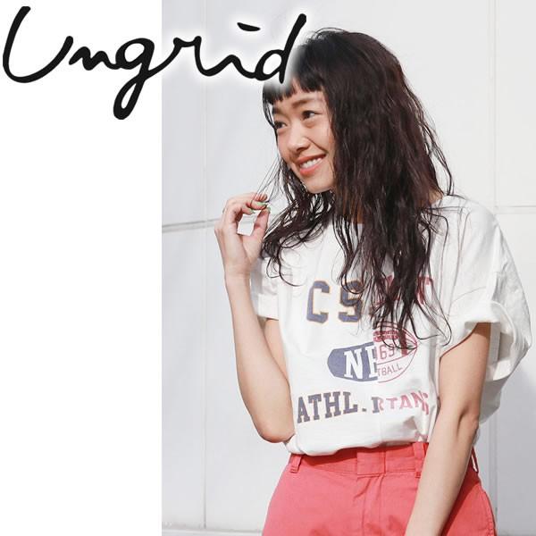 Ungrid アングリッド リメイクビッグTee【2018S/...