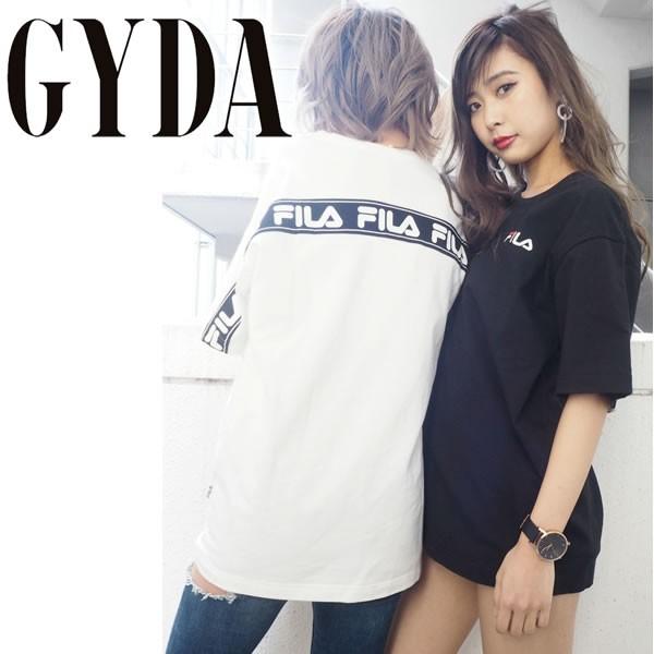 GYDA ジェイダ FILAグラフィックラインBIG Tシャ...