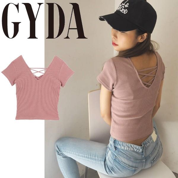 GYDA ジェイダ 2WAY バインダーTシャツ ニットソ...