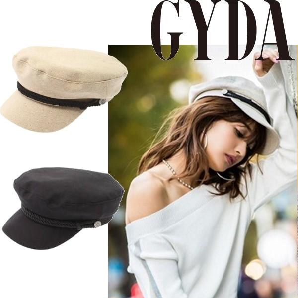 GYDA ジェイダ リネンマリンキャスケット 【2018S...