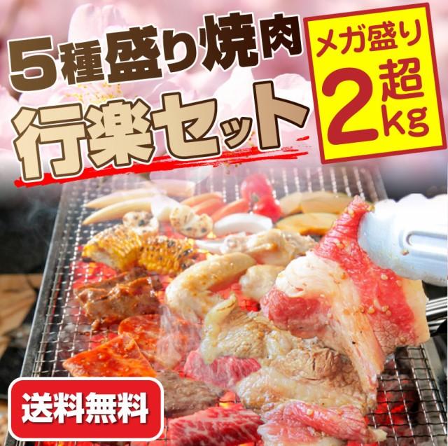 【送料無料・冷凍】メガ盛り行楽BBQセット!買え...