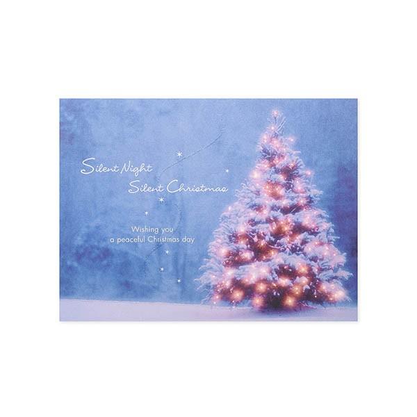 クリスマス(サイレントツリー?) Hallmark レディ...