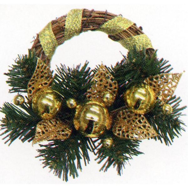 クリスマス ツリー 飾り リース  ミニラターンゴールドボール