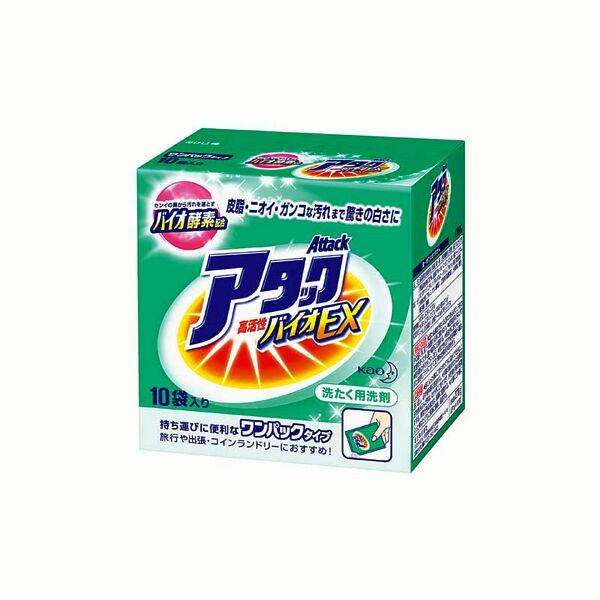洗濯洗剤 ワンパックアタック10コパック 花王 ...