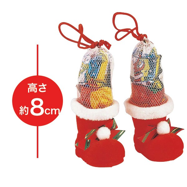 クリスマスミニブーツ お菓子ブーツ ラムネ/15454...