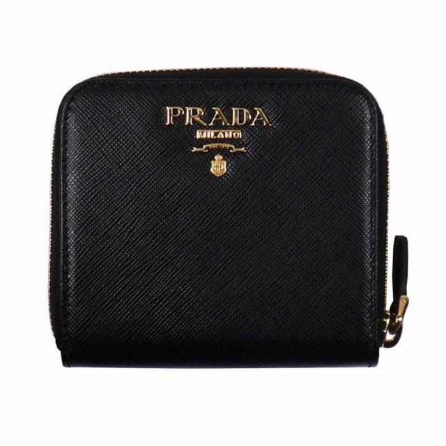 PRADA プラダ 二つ折り財布 1ML522 F0002 NERO QW...
