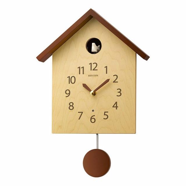 リズム時計工業 RHYTHM 鳩時計 カッコースタイル ...
