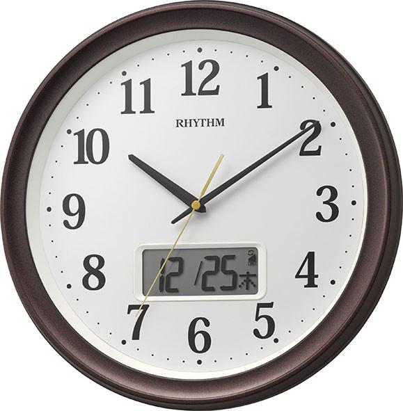 リズム時計工業 RHYTHM 電波 壁掛け時計 フィット...