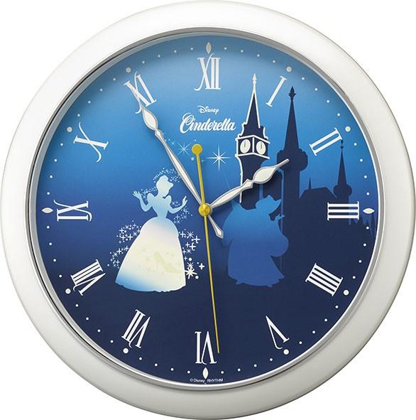リズム時計工業 ディズニー クオーツ 壁掛け時計 ...