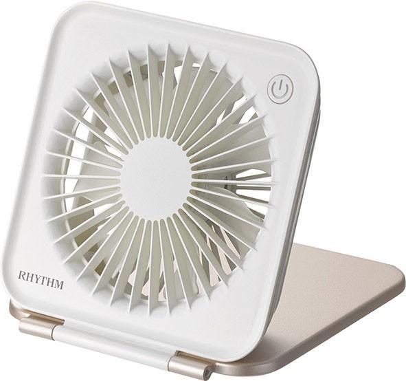 リズム時計工業 RHYTHM USBファン コンパクトファ...