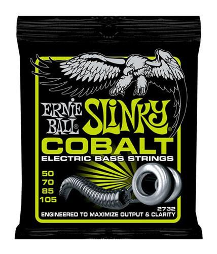 ERNIE BALL #2732 Cobalt Regular Slinky Bass コ...