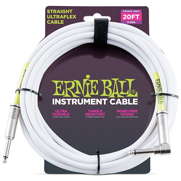 Ernie Ball 6047 20'STRAIGHT/ANGLE INSTRUMENT ...