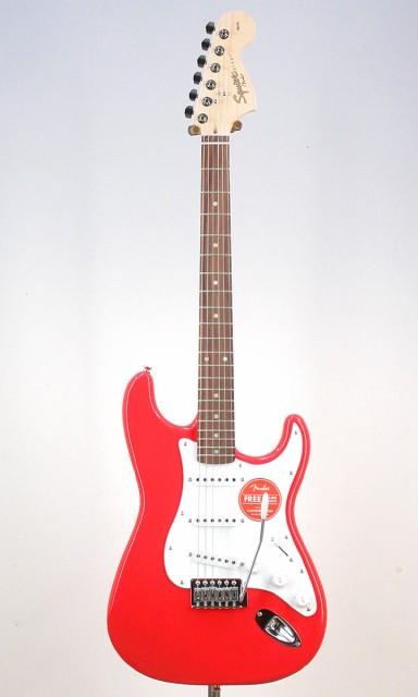 Squier Affinity Stratocaster RCR【ストラップ&...