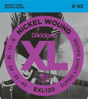 D'addario EXL120 ダダリオ エレキギター弦【送...