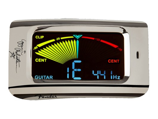 Fender USA YJM CLIP ON TUNER [YNGWIE MALMSTEEN...