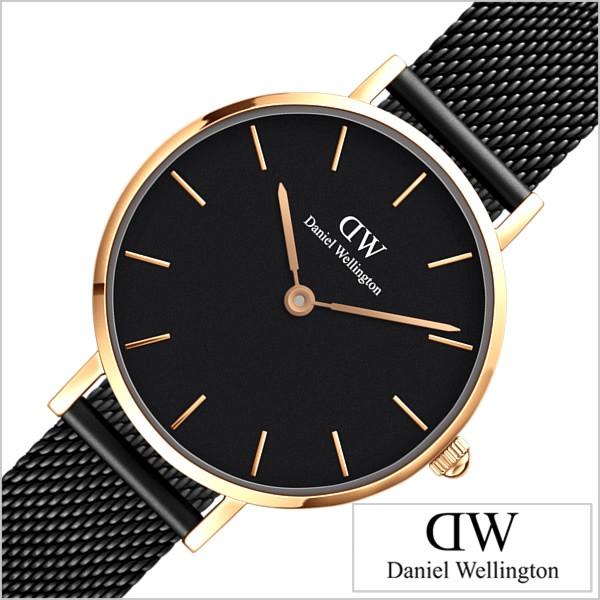 Daniel Wellington 腕時計 ダニエル ウェリントン 時計 クラシック ぺティート アッシュ CLASSIC レディース DW00100245