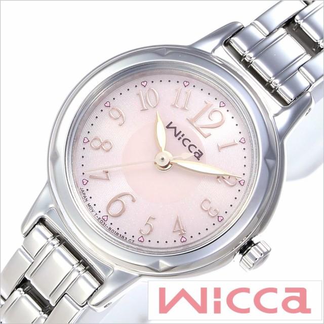 シチズンウィッカ腕時計 CITIZENwicca時計 CITIZEN wicca 腕時計 シチズン ウィッカ 時計 レディース ピンク KH9-914-91
