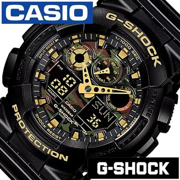 カシオ ジーショック 腕時計 CASIO G-SHOCK 時計 Gショック 時計 GSHOCK GSHOCK 腕時計 メンズ ブラック GA-100CF-1A9JF 人気 ブランド