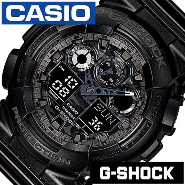 カシオ ジーショック 腕時計 CASIO G-SHOCK 時計 Gショック 時計 GSHOCK GSHOCK 腕時計 メンズ ブラック GA-100CF-1AJF 人気 ブランド ア