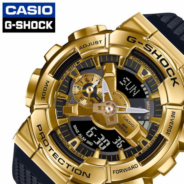 カシオ 腕時計 CASIO 時計 Gショック G-SHOCK メンズ ゴールド GM-110G-1A9JF [ 人気 ブランド 防水 頑丈 金 スポーツ アウトドア アクテ