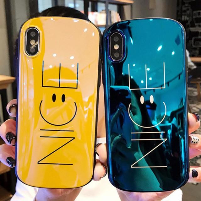 iPhone8 ケース iphone7 ケース 大人気 ニコちゃ...